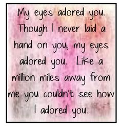 My Eyes Adored You. Frankie Valli 1974