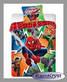 Spiderman bedding - baby bedding collection 160x200 Spider Sence | Pościel Spiderman - kolekcja pościeli dziecięcej Spider Sence 160x200 #spider_man_bedding #spiderman_bedding #kids_bedding