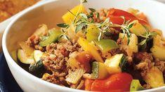 Jauheliha-kasvispata - Yhteishyvä Diabetic Recipes, Low Carb Recipes, Diet Recipes, Cooking Recipes, Healthy Recipes, Healthy Food, Food Challenge, Pot Roast, Food Inspiration
