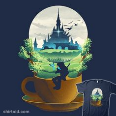 Hyrule Coffee | Shirtoid #coffee #danelijahfajardo #dandingeroz #gaming #hyrule #link #thelegendofzelda #videogame