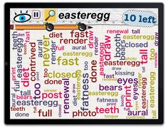 Find the easteregg in Word Mess
