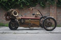 Steampunk Tendencies | Steampunk Tricycle by pofigist ‪#‎Design‬ ‪#‎Steampunk‬