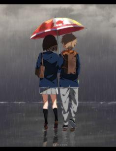 Part 1 - - Anime Image Anime Love, Anime Guys, Manga Anime, Anime Couples, Cute Couples, Plastic Memories, Cute Couple Art, Otaku, Art Club