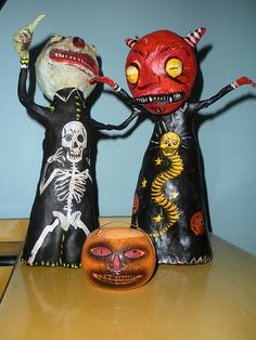 Shiverbones Ghoul & Devil + Vin. JOL