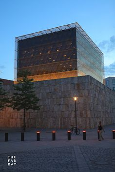 Jakob New Synagogue in Munich, Germany by Rena Wandel Hoefer and Wolfgang Lorch