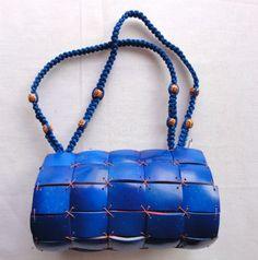 e8f219602fb1f Modrakowy kuferek do ręki z kokosa z Bali - 4201126996 - oficjalne archiwum  allegro