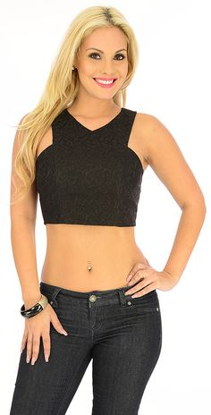$18.80 lace textured, wear with a highwaisted skirt or jeans