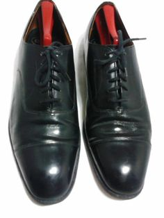 "Church's  Cap Toe Oxfords,""Consul "" Size 12D, Custom Grade Made In England . $69 . Free shipping"