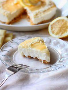 Helppo sitruunajuustokakku (ilman liivatetta) - Suklaapossu Cheesecake, Dairy, Pie, Sweets, Baking, Desserts, Food, Torte, Tailgate Desserts