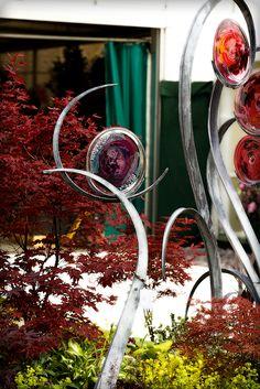 Jenny Pickford Artist Blacksmith at Chelsea Flower Show vcrown.com/...