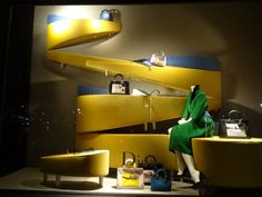 """Bergdorf Goodman, New york, """"Kath don't cry........buy a bag and get over it!"""", pinned by Ton van der Veer"""