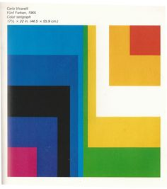 Color Serigraph by Carlo Vivarelli 1965