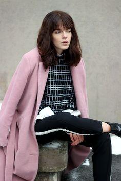 WST Pink Love Coat on Fashion Worries blog.