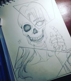 I'm so happy many people pinned this and recreate my artwork in there own way? Pls check out my other artwork? And YES this artwork is drawn by me? Skeleton Drawings, Skeleton Art, Dark Art Drawings, Pencil Art Drawings, Realistic Drawings, Art Drawings Sketches, Disney Drawings, Animal Drawings, Drawing Animals