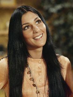 Best Long Hairstyles: Cher #hair