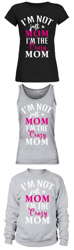 Mad Over Shirts Im Not A Regular Mummy Im A Cool Mummy Unisex Premium Tank Top