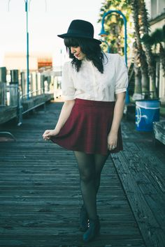 Want to dress like this everyday.  From the ModCloth Style Gallery.