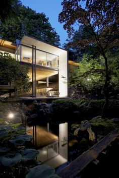 Southlands Residence – Ein modernes Haus im Wald Architecture Design, Residential Architecture, Amazing Architecture, Contemporary Architecture, Landscape Architecture, Contemporary Design, Home Design Diy, Modern House Design, Design Ideas