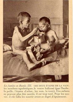 """""""Rotogravure of two starving boys: one feeds the other"""", 1922 [[MORE]] """" A postcard photograph (rotogravure) of two starving boys: one feeds the other. The boys are in the fatal stages of hunger. One Of Us, Cain And Abel, Acevedo, Ap World History, History Activities, Back In Time, Historical Pictures, Photo Postcards, How To Raise Money"""