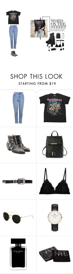 """""""#ironmaiden"""" by nudenim on Polyvore featuring Mode, Topshop, Chloé, Cosabella, Ray-Ban, Narciso Rodriguez und NARS Cosmetics"""