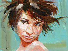 Contemporary Portrait by Steve Eichenberger by SteveEichenberger, $300.00