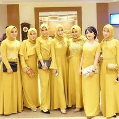 Hijab Gown, Kebaya Hijab, Hijab Dress Party, Hijab Style Dress, Kebaya Dress, Dress Pesta, Dress Brokat Muslim, Kebaya Muslim, Muslim Dress