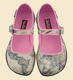 Zapatos Chocolaticas Antique Voyage