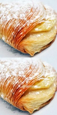 Neapolitan curly puff: an unusual filling and method of preparation. Baking Recipes, Snack Recipes, Snacks, Bread Bun, Rose Cake, Italian Recipes, Food To Make, Food And Drink, Menu