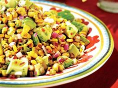 Avocado Corn Salad from Sobeys Inspired - a fave summer bbq recipe