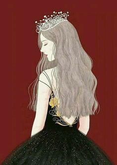 Bird Drawings, Cartoon Drawings, Girl Cartoon, Cartoon Art, Cartoon Ideas, Cover Wattpad, 3d Foto, Cute Girl Wallpaper, Princess Drawings