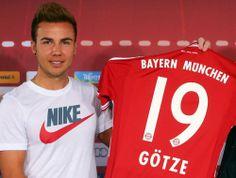 Maillot de Foot Bayern Munich (19 Götze) Domicile Adidas Collection 2013 2014 rouge Pas Cher http://www.korsel.net/maillot-de-foot-bayern-munich-19-g%C3%B6tze-domicile-adidas-collection-2013-2014-rouge-pas-cher-p-2534.html