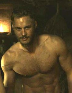 This man!!! =]] Travis Fimmel in Vikings.