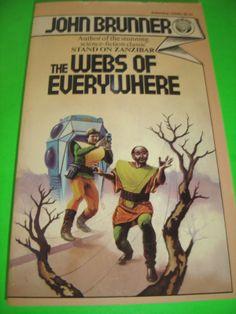THE WEBS OF EVERYWHERE JOHN BRUNNER JAN 1983 PB BOOK