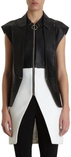 ALEXANDER WANG - Cap Sleeve Vest (Lyst)