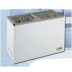 """New White 7.4cf Chest Freezer. Win a 24"""" LED TV go to https://www.facebook.com/events/357448944309371/ for details."""