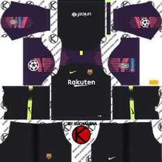 Barcelona Nike kits for Dream League Soccer and the package includes complete with home kits, away and third. All Goalkeeper kits are also included. This kits also can use in First Touch Soccer 2015 Barcelona Football Kit, Barcelona Third Kit, Barcelona Nike, Real Madrid Logo, Real Madrid Soccer, Usa Football Team, Football Kits, Barcelona Champions League, Uefa Champions League