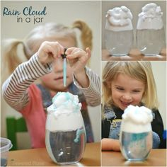 storm in a jar experiment for kids