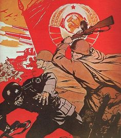 Soviet Communism Propaganda as a failed Collectivist Experiment and its effect on World History explained in the video documentary The Soviet Story Ww2 Propaganda Posters, Communist Propaganda, Political Posters, Soviet Art, Soviet Union, War Medals, Red Army, Communism, Military Art
