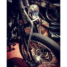 Stabilizer for 74 springer fork by Cherrys Company | Japan