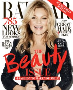 nice Harper's Bazaar US May 2014 | Kate Moss  [Capas]