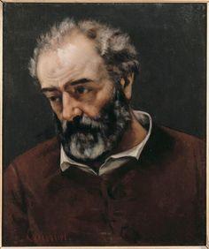 Portrait of Paul Chenavard,   Gustave Courbet