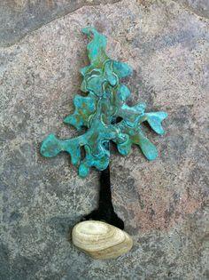 Extra Small Bonsai Pine Tree by VanWoman on Etsy, $15.00
