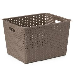 Easily store all of your arts and crafts essentials with this SONOMA Goods for Life Plastic Storage bin.