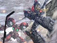 Infinity War, Transformers, Japanese Superheroes, Robot Illustration, Fanart, Mecha Anime, Futuristic Art, Super Robot, Weird Art
