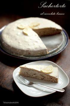 Sacher torte al cioccolato bianco