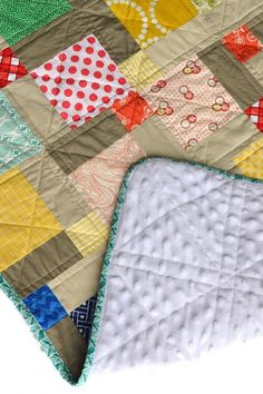 Tips & Tricks for Quilting With Minky Fabric