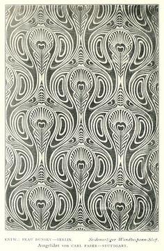 Design credited to Frau Dunsky (from Deutsche Kunst und Dekoration, vol 7, via www.johncoulthart.com)
