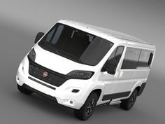 model: Let me represent you high poly model of Fiat Ducato Panorama 2015 with high detail. The Fiat Ducato is a light commercial vehicle developed by the Sevel joint venture between Fiat and . Ducato Camper, Fiat Ducato, Motorcycle Camping, Camping Gear, Volkswagen Routan, Automobile, Car 3d Model, Ford, Commercial Vehicle