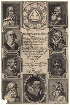 Frontispiece of the 1639 edition of Military and Domestic Surgery by John Woodall.