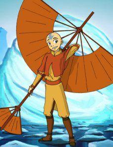 DIY Aang The Last Airbender Avatar costume tutorial